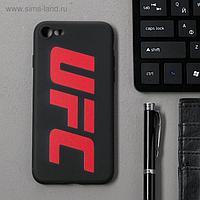 Чехол клип-кейс Red Line UFC для iPhone 7/8/SE 2020, черный