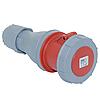 Розетка кабельная 5*125А, 380В, IP67