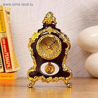 Часы-будильник настольные, d=4.2 см, 1 АА, дискретный ход, микс