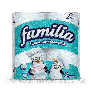 Полотенца бумажные Familia 2сл. 2рул.