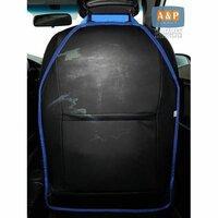 Защитная накидка на спинку автомобильного сиденья(60х40)голубой