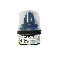 """Крем-блеск для обуви """"DAMAVIK"""" с губкой в пластиковой банке, бесцветный, 50 мл."""