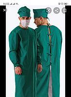 Хирургический халат из тканного материала панацея
