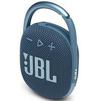Колонка Bluetooth JBL CLIP 4, синяя