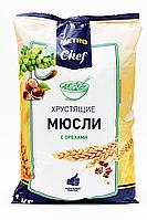 Мюсли Metro Chef хрустящие с орехами 1кг