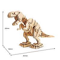 "3D пазл Robotime ""Динозавр T-Rex на управлении"""