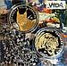 Тигр с бриллиантами - 100 тенге (Серебро / Позолота), фото 3