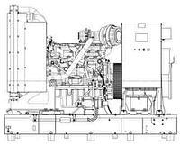 Электроагрегат АД200-Т400-1, 2, 3Р (П)