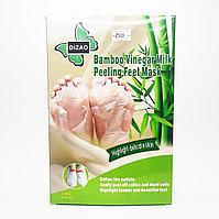 Носочки для педикюра Bamboo Vinegar Milk peeling Feet Mask Бамбуковый Уксус Dizao 2 шт.