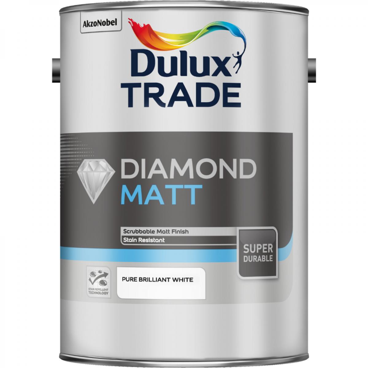 Краска Dulux TRADE Diamond Matt 10л