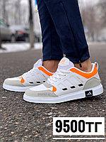 Кроссовки adidas drop step бел сер оранж, фото 1