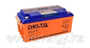 Аккумуляторная батарея Delta GEL 12-65 (12V / 65Ah)