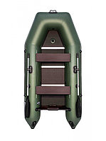 Гребная лодка АКВА 2900 СК зелёный, фото 1