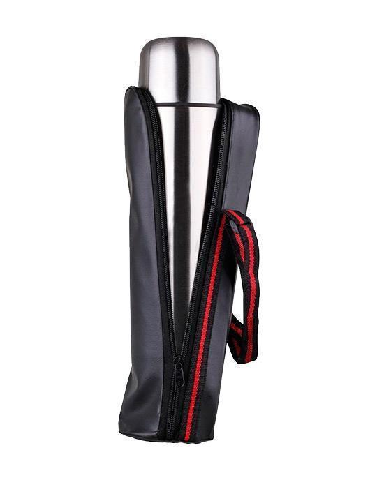 Термос с чехлом для путешествий  Зимняя распродажа!