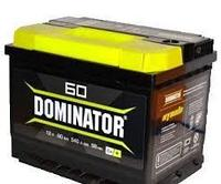 Аккумулятор Dominator 6CT 60 АПЗ нихкий