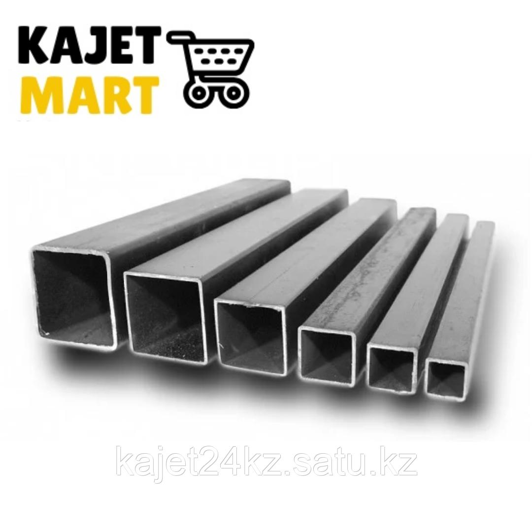 Профильная труба (квадратная) 50х25х1,5мм  длина 6,05м