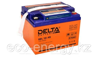 Аккумуляторная батарея Delta GEL 12-45 (12V / 45Ah)