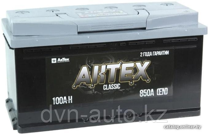 Аккумулятор AKTEX 6СТ 100Аh -+