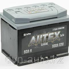 Аккумулятор AKTEX 6CT 60Ah -+