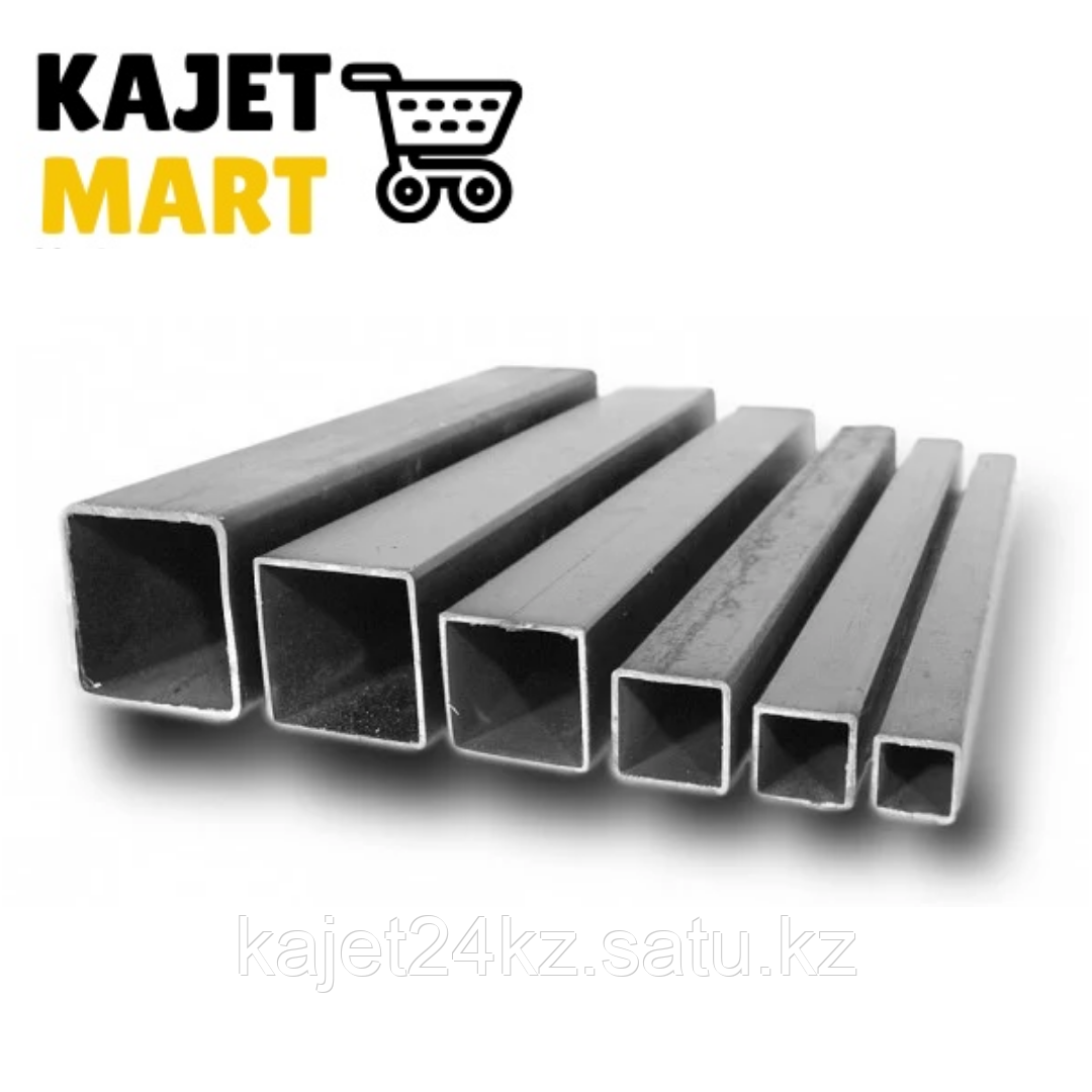 Профильная труба (квадратная) 80х40х2,0мм  длина 6,05м