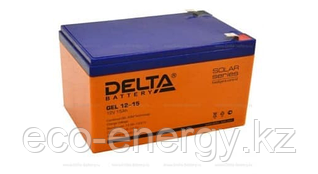 Аккумуляторная батарея Delta GEL 12-15 (12V / 15Ah)