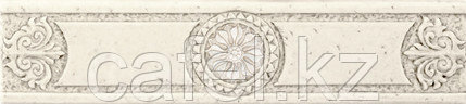Кафель | Плитка настенная 30х60 Цезарь | Cesar бежевый бордюр