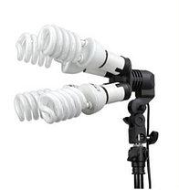 2 зонта 110 см на просвет на стойках с головками на 4 лампы, фото 3