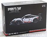 Конструктор cool&fan 13387 bela Technica «Porsche 911 RSR» 11171 (Аналог лего LEGO Technic 42096) 1580 деталей, фото 2