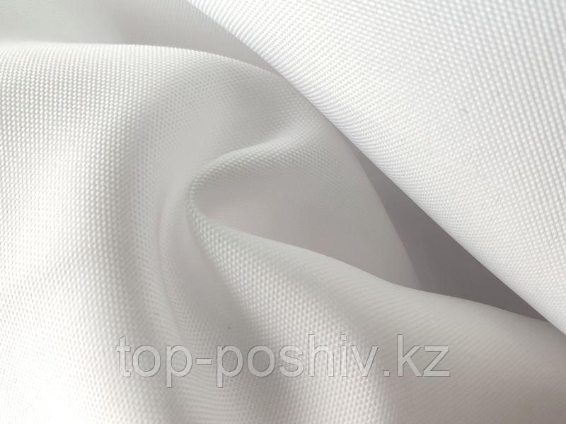 Габардин Стандарт, Термотрансфер, 160 г/кв.м, 150 см, белый аист