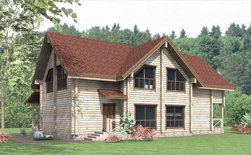 Проект дома №3332