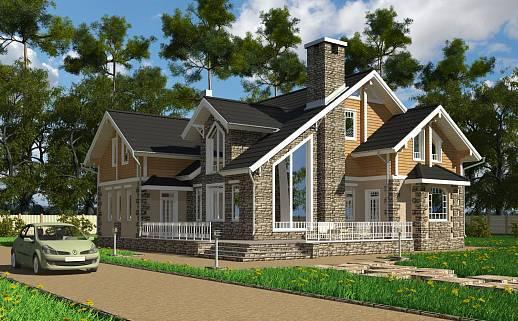 Проект дома №3319