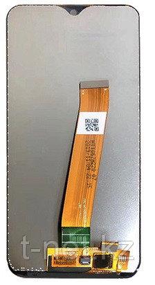 Дисплей Samsung A01/ A015FZ ОРИГИНАЛ с сенсором, цвет черный