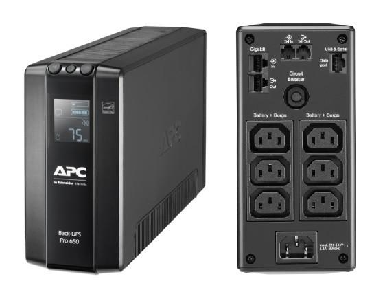 ИБП APC BR650MI (BR650MI)
