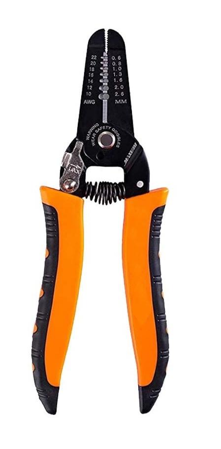 Стриппер для зачистки проводов 175мм от 0,6 мм до 2,6 мм