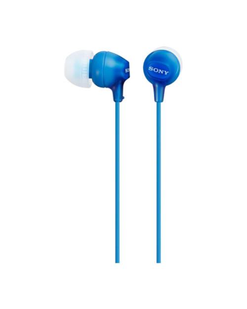 Наушники-вкладыши Sony MDREX15LPLI.AE, синий