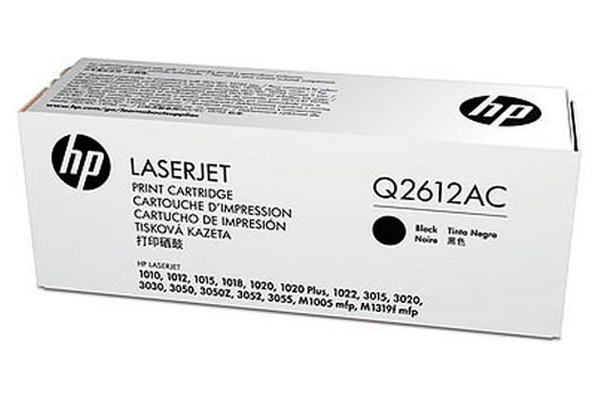 Картридж лазерный НP Q2612AC Black