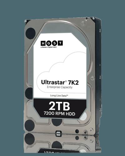 Накопитель на жестком магнитном диске WD Жесткий диск Western Digital Ultrastar 7K2 HUS722T2TALA604 (1W10002)