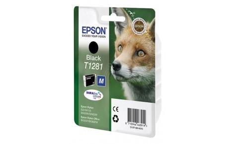 Картридж струйный Epson C13T12814012 Black for S22/SX125 new