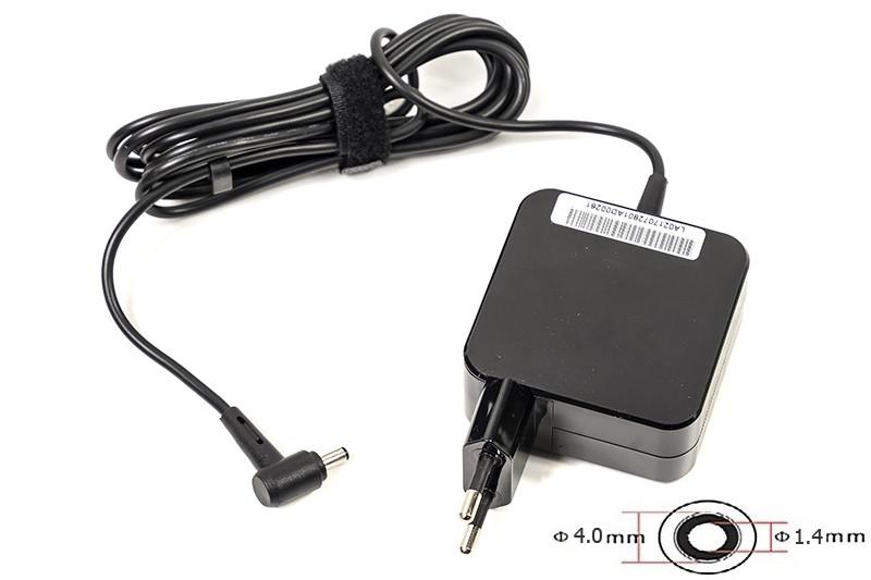 Блок питания для ноутбуков PowerPlant ASUS 220V, 19V 33W 1.75A (4.0*1.35) wall mount