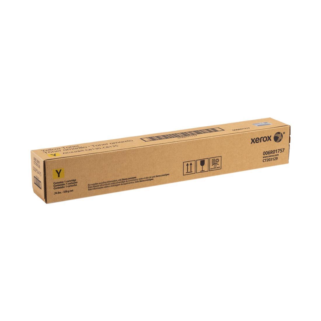 Тонер-картридж стандартной емкости Xerox 006R01757 (жёлтый)