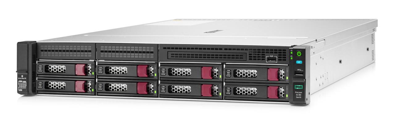 Сервер HPE P19562-B21 DL180 Gen10 (1xXeon3204(6C-1.9G)/ 1x16GB 1R/ 8 LFF LP/ S100i SATA RAID/ 2x1GbE/ 1x500Wp/
