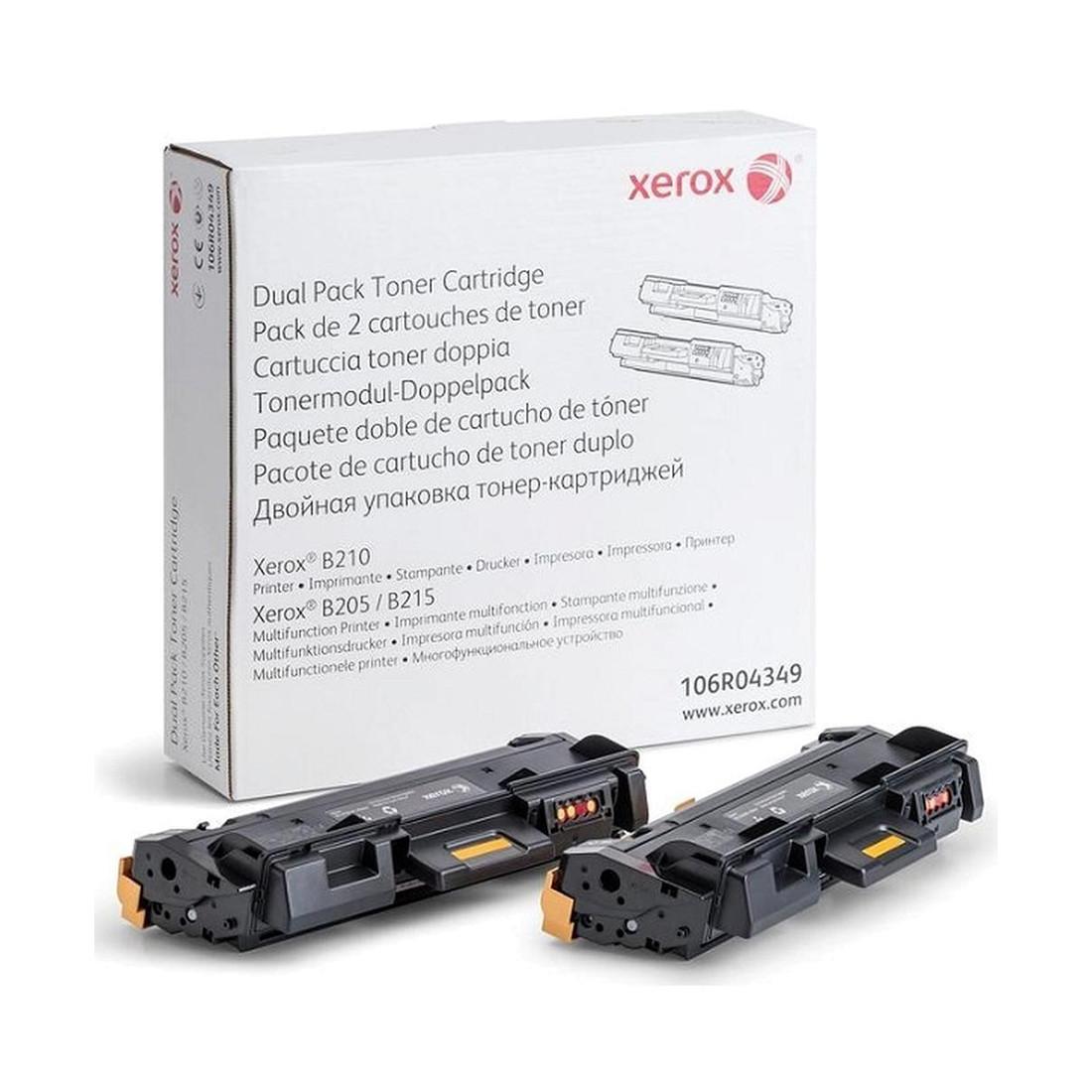Тонер-картридж (двойная упаковка) Xerox 106R04349