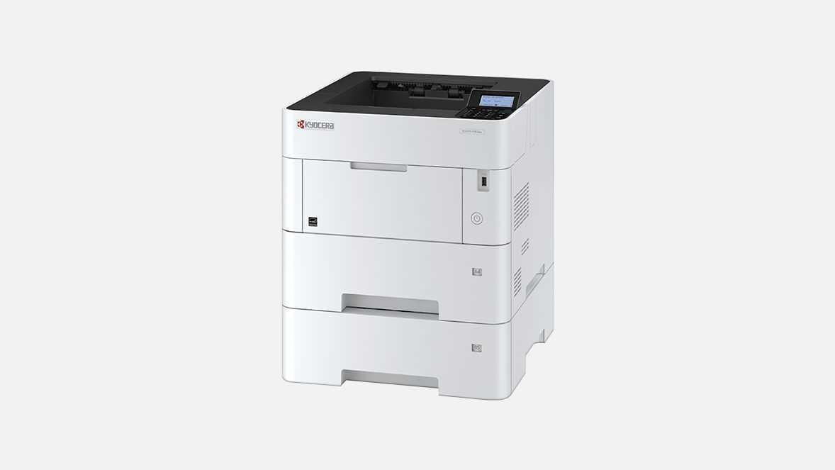 Принтер лазерный KYOCERA Лазерный принтер Kyocera P3155dn (А4, 1200dpi, 512Mb, 55 ppm, 600 л., дуплекс, USB