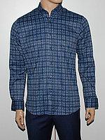 Рубашка классическая Cardozo синяя
