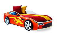 """Кровать машина """"Бондмобиль"""" красная"""
