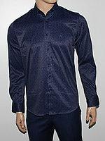 Рубашка приталенная Cardozo сливовая