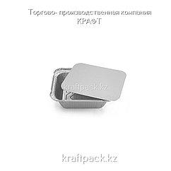 Контейнер с крышкой, Фольгированный 490 мл (100/1200)