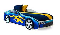 """Кровать машина """"Бондмобиль"""" синяя"""