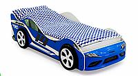 """Кровать машина """"Супра"""" синяя"""