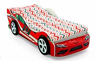 """Кровать машина """"Супра"""" красная"""